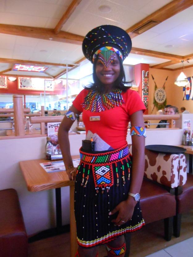 Zulu Waitress